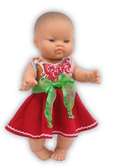 Jurkje met onderbroekje (kleine baby Born, Paola Reina 34 cm) Girls Dresses, Flower Girl Dresses, Summer Dresses, Baby Born, Fashion, Moda, Summer Sundresses, La Mode, Fasion