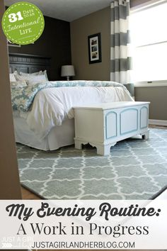 Cute rug and curtains