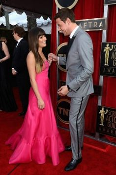 They had such a cute relationship! - A Timeline Of Cory Monteith And Lea Michele's Relationship/ Rachel Barry from glee Cory Monteith, Lea Michele, Rachel And Finn, Lea And Cory, Cute Celebrity Couples, Cute Couples, Celebrity Moms, Glee Club, Rachel Berry