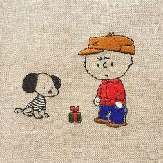 Christmas present  * プレゼント企画にたくさんのご参加をいただき、本当にありがとうございます。 時間の許す限り、おまけのオーナメントを作ります。 最後の図案もやはり50'sです。 * 今日の夜0時で締め切らせていただきます。 企画へのご参加は5つ前の投稿にコメントをお願いします。 * * #snoopy #peanuts #Schulz #CharlieBrown #handembroidery #embroidery #Christmas #Christmaspresent #vintagepeanuts #スヌーピー #ピーナッツ #チャーリーブラウン #クリスマス #刺繍 #プレゼント企画