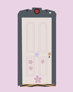 Paint the outside of my door like this so you go through boos door to get to the Disney room