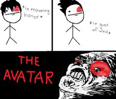 Wind blows in your face? Must be the Avatar.