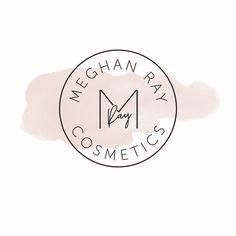 Custom Logo for Meghan Ray Cosmetics  #branding #custombranding #design #senegence #lipsense #smallbusiness Happy Monday, Custom Logos, Branding, Cosmetics, Design, Instagram, Style, Swag, Brand Management