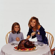 Ashley Olsen[left] & Mary-Kate Olsen[right]. Two Of A Kind Photo Shoot 1998