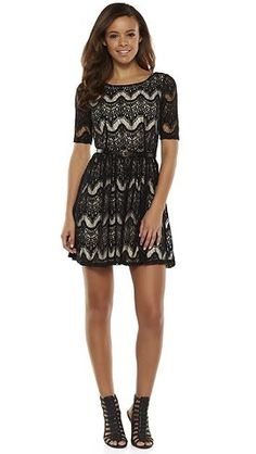 Rewind Lace Skater Dress - Juniors #Kohls