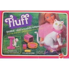 Loved this pet much more. It had velcro claws so that it could hang on the scratching post. Nifty.