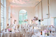 Wedding Reception in the Orangery at Kew Gardens