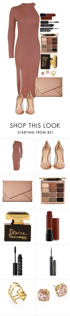 """Untitled #1680"" by fabianarveloc on Polyvore featuring Topshop, Gianvito Rossi, Kendall + Kylie, Stila, Dolce&Gabbana, NARS Cosmetics, Elizabeth Arden, Jennifer Zeuner and Tory Burch"