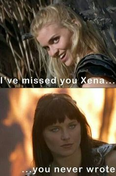 Xena and Callisto, Return od Callisto... ahahaha