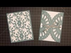 Frilly Doily Card with Cricut Explore Tutorial - YouTube