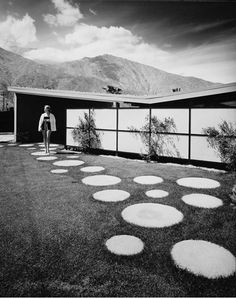 Julius Shulman, Alexander Twin Palms House 2, 1957