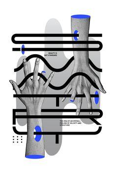 Symmetry es un proyecto personal para estudiar la tipografía y la simetría en la forma en que escribimos.