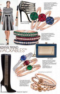Gemstones and fashion accessories 2016/2017 details LeVian jewelry #Luxurydotcom