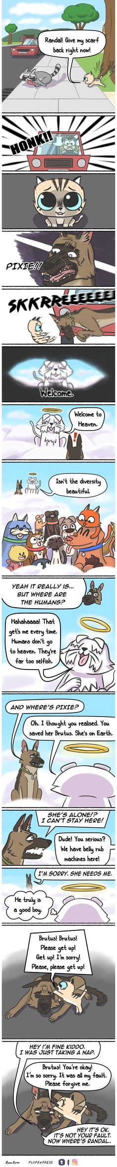 Comics-Abenteuer-Hunde-Pixie-Brutus-Fan-Art, You are in the right place about Cute Dogs cartoon Here Comics Und Cartoons, Funny Cartoons, Funny Comics, Cat Comics, Fan Art, Art Mignon, Comics Story, Cute Stories, Cute Funny Animals