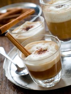 Looking for a delicious, boozy pick me up? Try Alie and Georgia's Cafe Cinnabourbon! You'll need 1 oz of bourbon whiskey ½ oz of cinnamon liqueur 1 Nescafe Dolce Gusto Skinny Latte Macchiatto. Easy! Add the first two ingredients to a mug and stir...