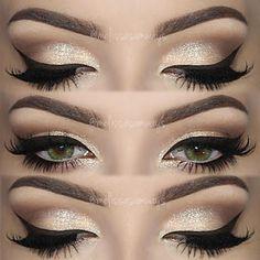 Mujer al natural: Tutorial Makeup: Maquillaje de Ojos con Glitter pa...