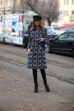 Street Style Fall 2013 @ Milan Fashion Week
