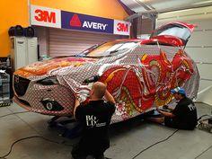 Mazda Art Car on Behance