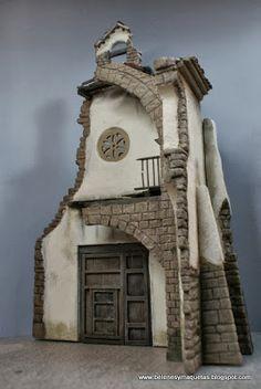 Popsicle Stick Art, Cribs, Sculptures, Scenery, Building, Blog, Ideas, Log Homes, Miniatures
