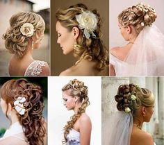 ¡Hermoso peinado para la novia!