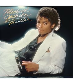 Thriller Album Cover One Of My Favorite Albums From Michael. Did you know: Michael Jackson is the certified music artist in the US million album certifications). He may have sold much more than this amount shown since his passing. Michael Jackson Vinyl, Michael Jackson Thriller, Thriller Jackson, Janet Jackson, Lps, Paul Mccartney, Lp Vinyl, Vinyl Records, Movies
