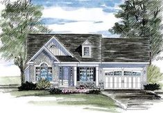 My very favorite plan.*** House Plan 80312 | Cottage Country Ranch Plan with 1598 Sq. Ft., 3 Bedrooms, 2 Bathrooms, 2 Car Garage