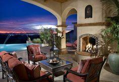 Spanyol gyarmati stílus - gyönyörű otthon, a nyugalom és béke szigete