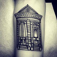 Shotgun house#tattoo  #tattoos  #frenchmenst  #neworleans  @downtowntattoosnola