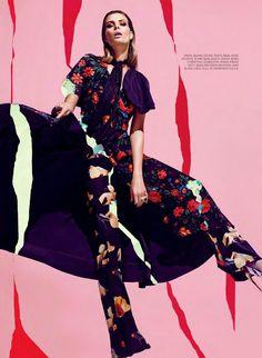 """Busy Signals"" by Chris Nicholls for Fashion Canada Summer 2015 - Celine"
