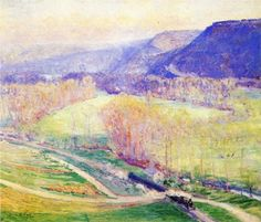 The Valley of the Seine - Guy Rose
