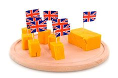 Cheddar Cheese Pieces With Mini British Flags in Them. British Cheese, Types Of Cheese, Cheese Nutrition, Yummy Food, Tasty, Protein Sources, Healthy Options, Cheddar Cheese, Flags