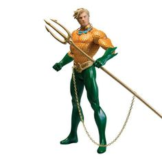 Purchase DC Comics Essentials Aquaman Figure Justice League New 52 Collectibles from Archies on OpenSky. Share and compare all Toys. Justice League Aquaman, Justice League New 52, Justice League Unlimited, Dc Comic Books, Comic Book Heroes, Comic Art, Funny Stories For Kids, Funny Kids, Dc Comics