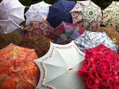 Fashion accessory umbrella, subject to availability