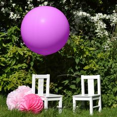 36 inch Large Latex Balloon Lavender - Latex - Balloons - Kids' Party