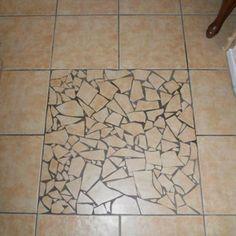 MOSAIC ART FOR HOME DECOR #vintagemaya #mosaic #art floor #home decor