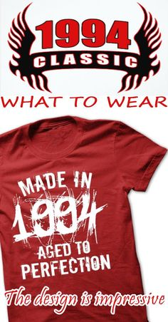 Made in 1994 legend year TN002. If you want to buy other name shirt, go to this link to find it: nameshirts.net