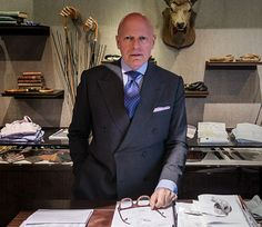Our New York senior bespoke manager Rob Gillotte started working for Turnbull & Asser almost two decades ago in 1997. Responsible for fitting many elite North American businessmen, government officials and other notable figures from the Big Apple and beyond, Rob is one of the East Coast's most shirt-savvy gentlemen.
