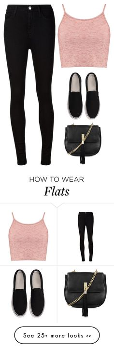 """""""Untitled #1891"""" by twerkinonmaz on Polyvore featuring Boohoo, AG Adriano Goldschmied and Topshop"""