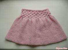 Наша первая юбочка.