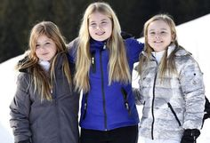 ♥•✿•QueenMaxima•✿•♥...Princess Alexia had an accident at Lech Ski Center