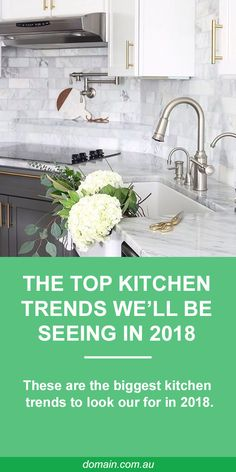 Kitchen Lighting We speak to three interior design experts who pinpointed the trends and functional tips to get your kitchen looking its finest for - A well-designed, attractive kitchen can change how you feel about a house. Kitchen Design Trends, Top Kitchen Trends, Italian Home, Kitchen Trends, Kitchen Trends 2018, Kitchen Remodel, Big Kitchen, Kitchen Styling, Kitchen Design