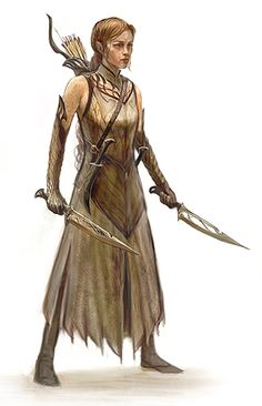 Mirkwood Ranger... (Concept art... Paul Tobin.)