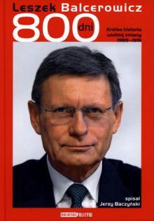 Leszek Balcerowicz - 800 dni