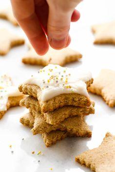 Easy Vegan Sugar Cookies {gluten-free, oil-free, refined sugar-free}
