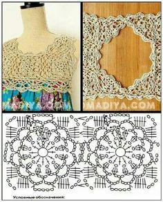 Stitch unit chart crochet pattern