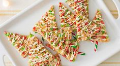 Kids of all ages will enjoy making and eating these holiday tree pops.