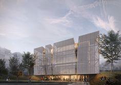 Projetado pelo Alper Derinboğaz, Salon. O PARKOPERA, uma instalação cultural projetada pelo escritórioAlper Derinboğaz,Salon, é um centro de atrações que será construídoentre edifícios...