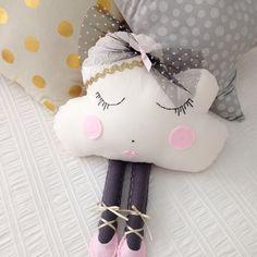 Image of Ballerina Cloud Pillow 'Miss Mia'