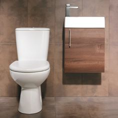 Balterley Walnut Furniture Cloakroom Suite