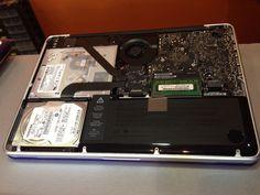 Reparación y limpieza ordenador portátil